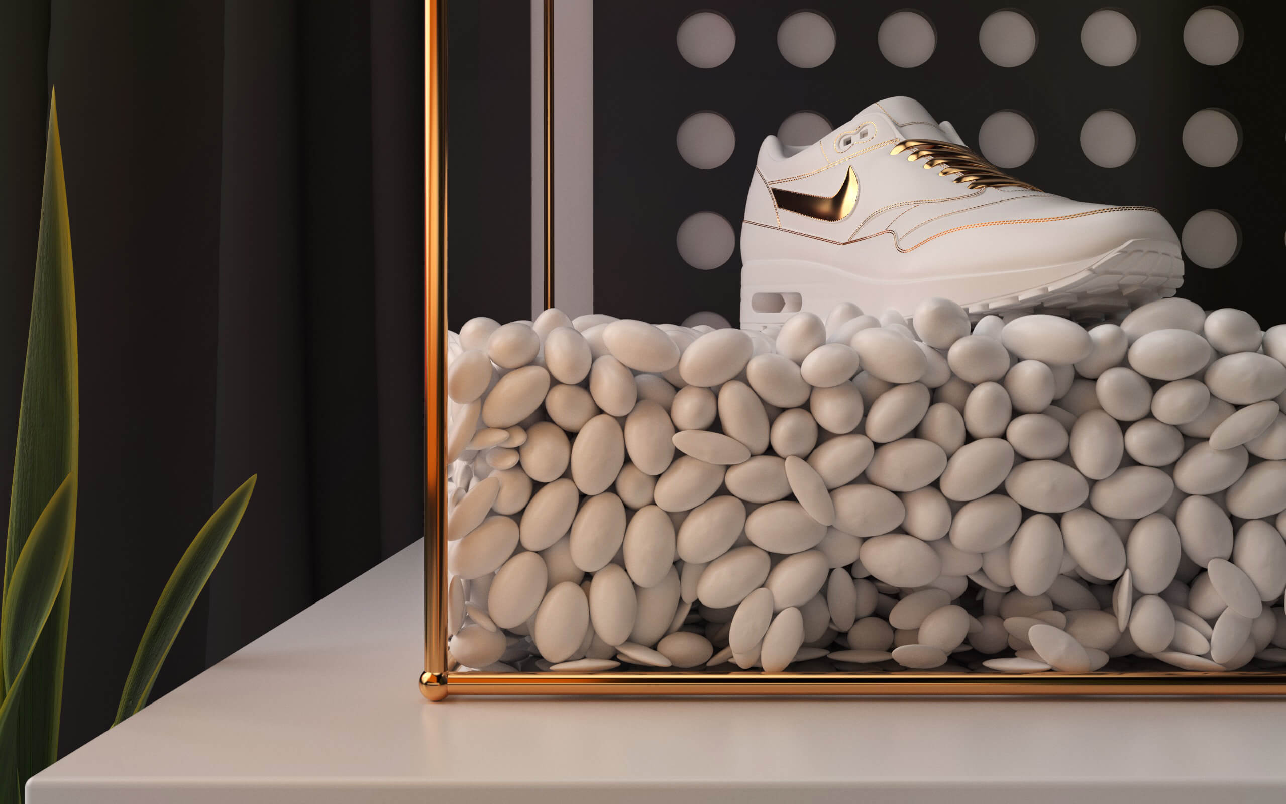 Nike AirMax Gold